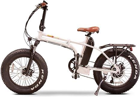 eWheels Bam Bicicleta eléctrica Plegable – neumáticos de Grasa y ...