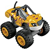 Blaze y los Monster Machines Nickelodeon - Coche stripes, color amarillo (Mattel CGH56)