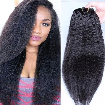 Light Yaki Clip In Brazilian Hair Extensions