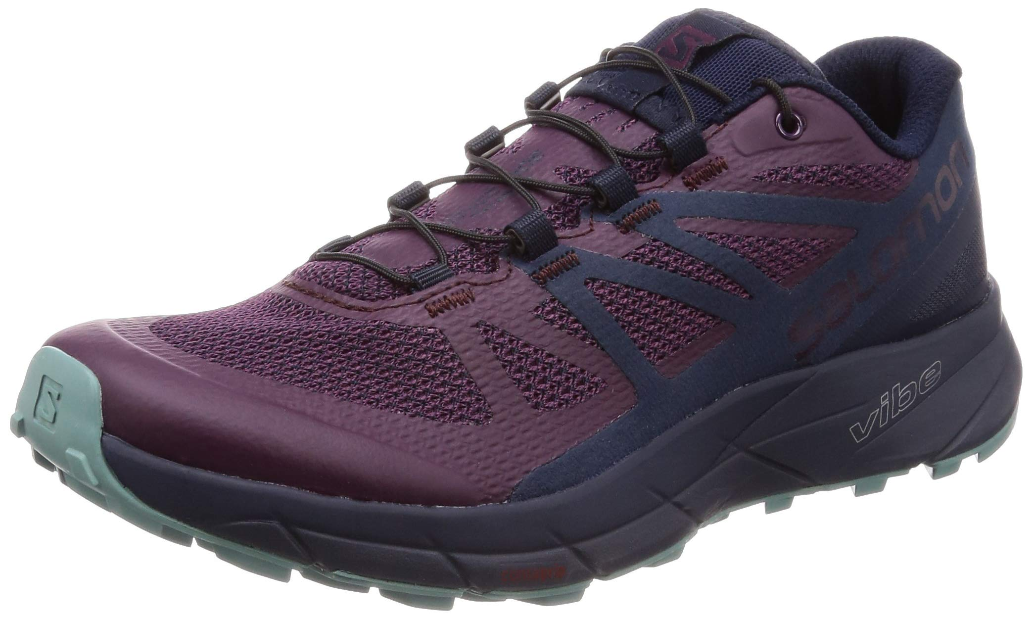 Salomon Sense Ride Running Shoe - Women's Potent Purple/Graphite/Navy Blazer 6 by Salomon (Image #1)
