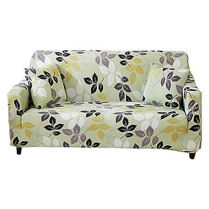 FORCHEER Funda para sofá de 1/2/3/4 plazas, funda para sofá, sillón elástico, protector de muebles, tela, Pattern #22, 2 Seater