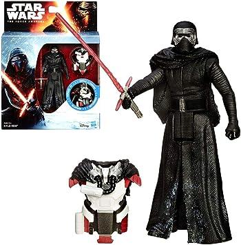 Star Wars Selección de Figuras de Juego | 3.75 | Figuras de Acción | Hasbro Figuren:Kylo REN Armor Pack: Amazon.es: Juguetes y juegos