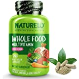 NATURELO Whole Food Multivitamin for Women - Natural Vitamins, Minerals, Raw Organic Extracts - Supplement for Energy…