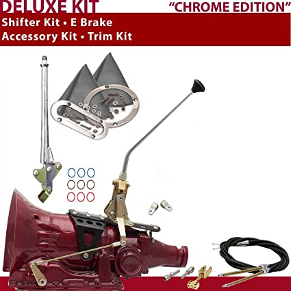 C4 Shifter Kit 12 E Brake Cable Clevis Trim Kit For CCEED f-series capri