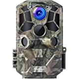 Victure WiFi Trail Game Camera 30MP 1296P with Night Vision Motion Activated IP66 Waterproof and 120° Detection Angel…