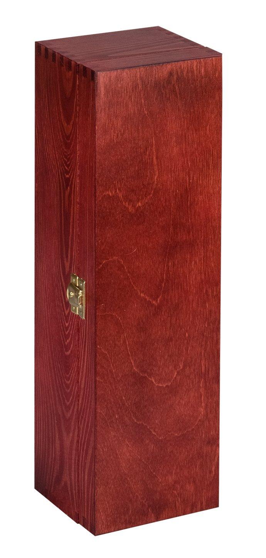 Botella, caja de regalo de lujo de madera del vino, champán o Whisky: Amazon.es: Hogar