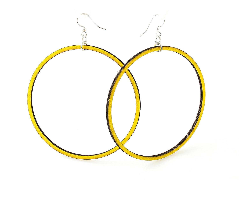 Large Circle Earrings