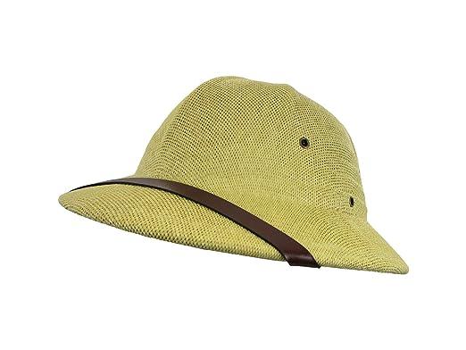 Amazon.com  British Pith Helmet Safari Jungle Explorer Hunter African  Professor Costume Hat  Clothing 9eeac52ccb65