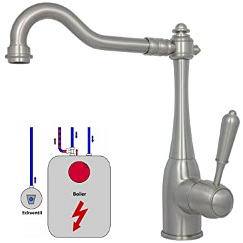 Cool Niederdruck Sple Wasserhahn Armatur Brause Edelstahl With Niederdruck  Armatur Mit Brause
