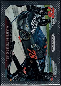 2016 Panini Prizm NASCAR #62 Martin Truex Jr. Furniture Row-Denver Mattress/Furniture Row Racing/Toyota Official Racing Card by Panini