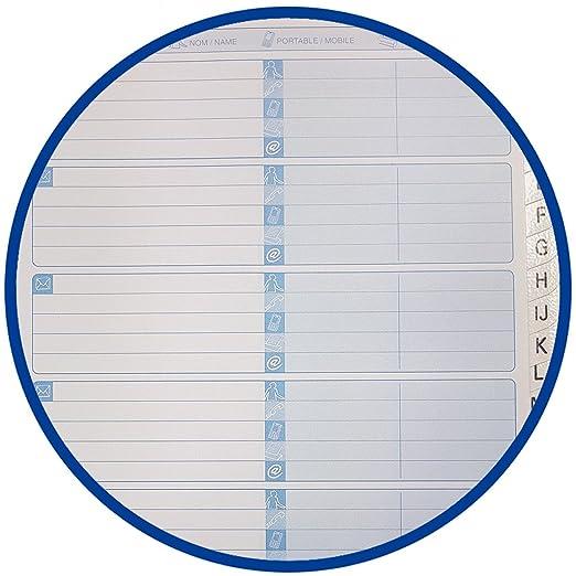 Oxford Office N002800 - Agenda telefónica de espiral doble (144 páginas, A5, tapa dura, 90 g/m²), colores surtidos