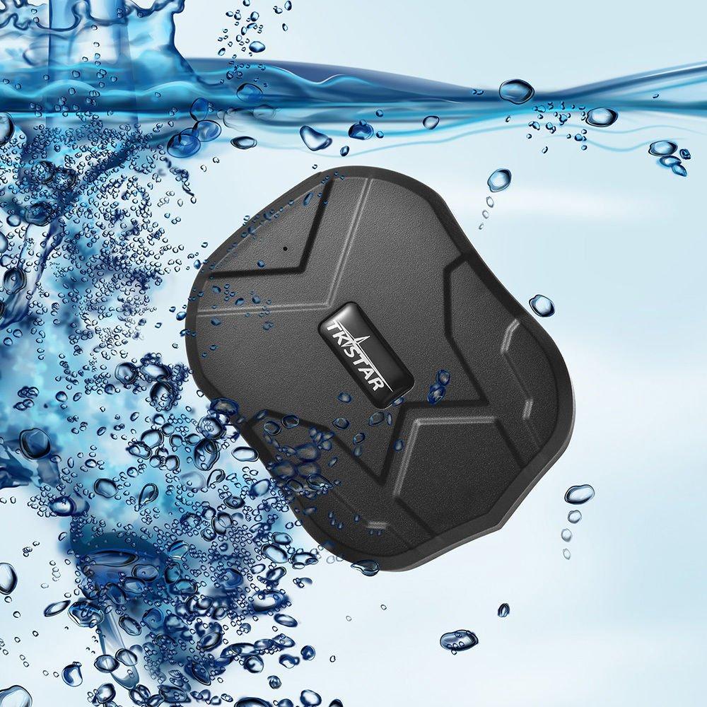 TKSTAR GPS Tracker,5 mesi Standby in Tempo Reale Tracciatore di Posizione Mini GPS per Auto Veicoli Moto Magnete Potente e Batteria GSM Precisione entro 5 metri antifurto,APP Gratuita TK905B
