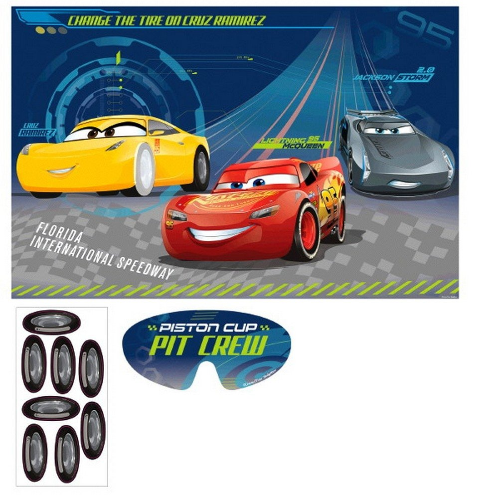 Amscan 271763 Cars 3 Party Games