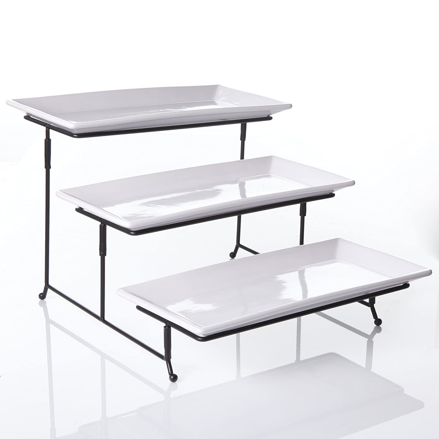 Famous Amazon.com | New Home Deal Tiered Serving Tray Set with  RT61