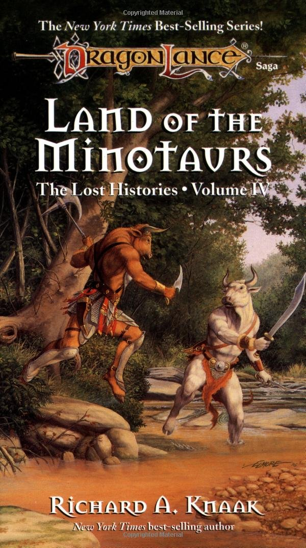 Download Land of the Minotaurs (Dragonlance Lost Histories, Vol. 4) ebook