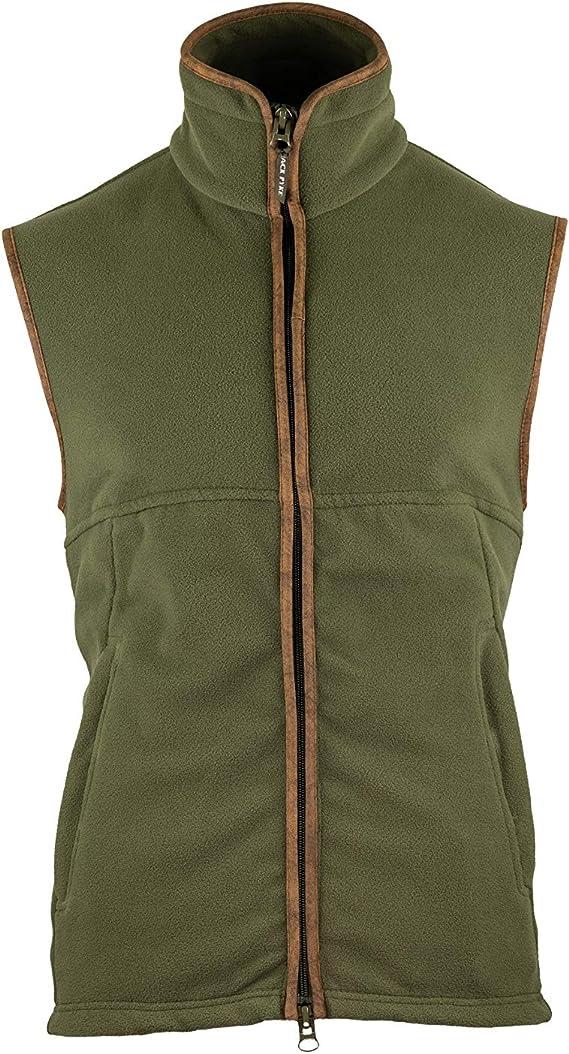 Jack Pyke Countryman Fleece Jacket Thermal Zip Front Light Olive Green