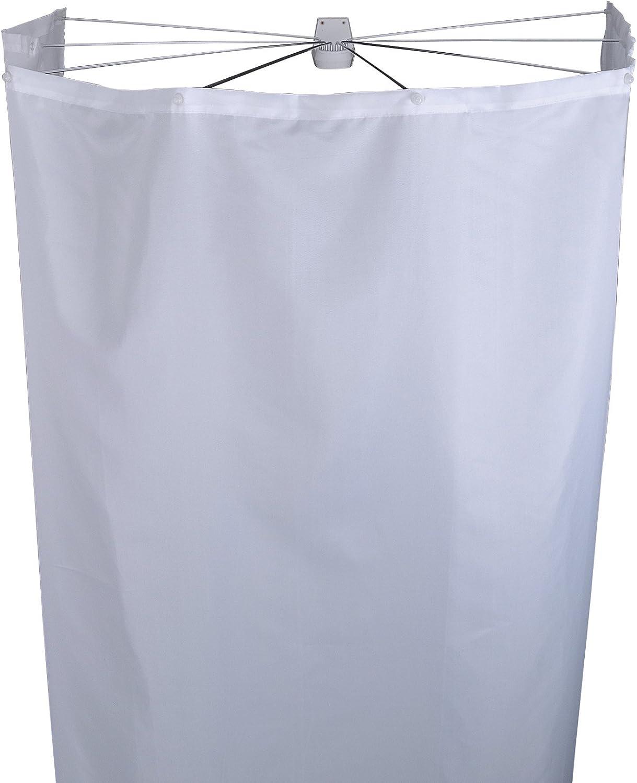 RIDDER Duschfaltkabine Ombrella Textil Madison wei/ß 210x180 cm