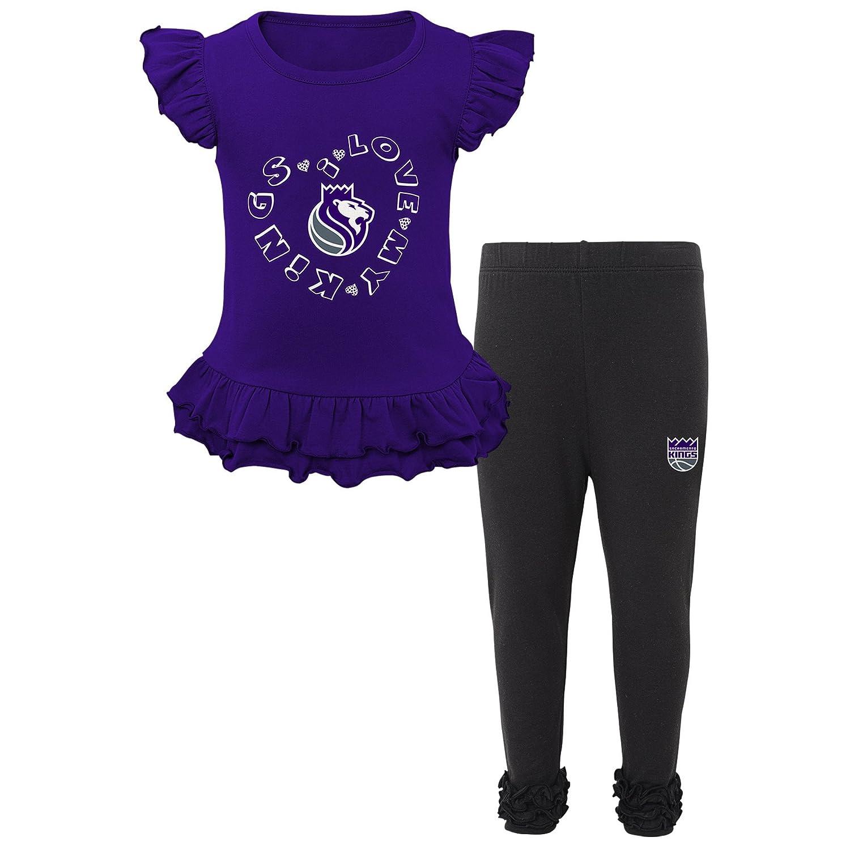 Outerstuff NBA Toddler NBA Toddler Team Love Ruffle Shirt and Pant Set
