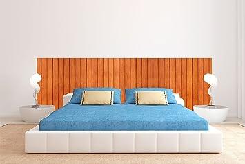 Tête de lit Carton Écologique Texture bois classique | 200x60cm ...
