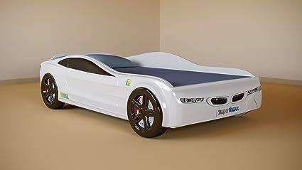 Amazon.com: Cama infantil para dormir en coche, de plástico ...