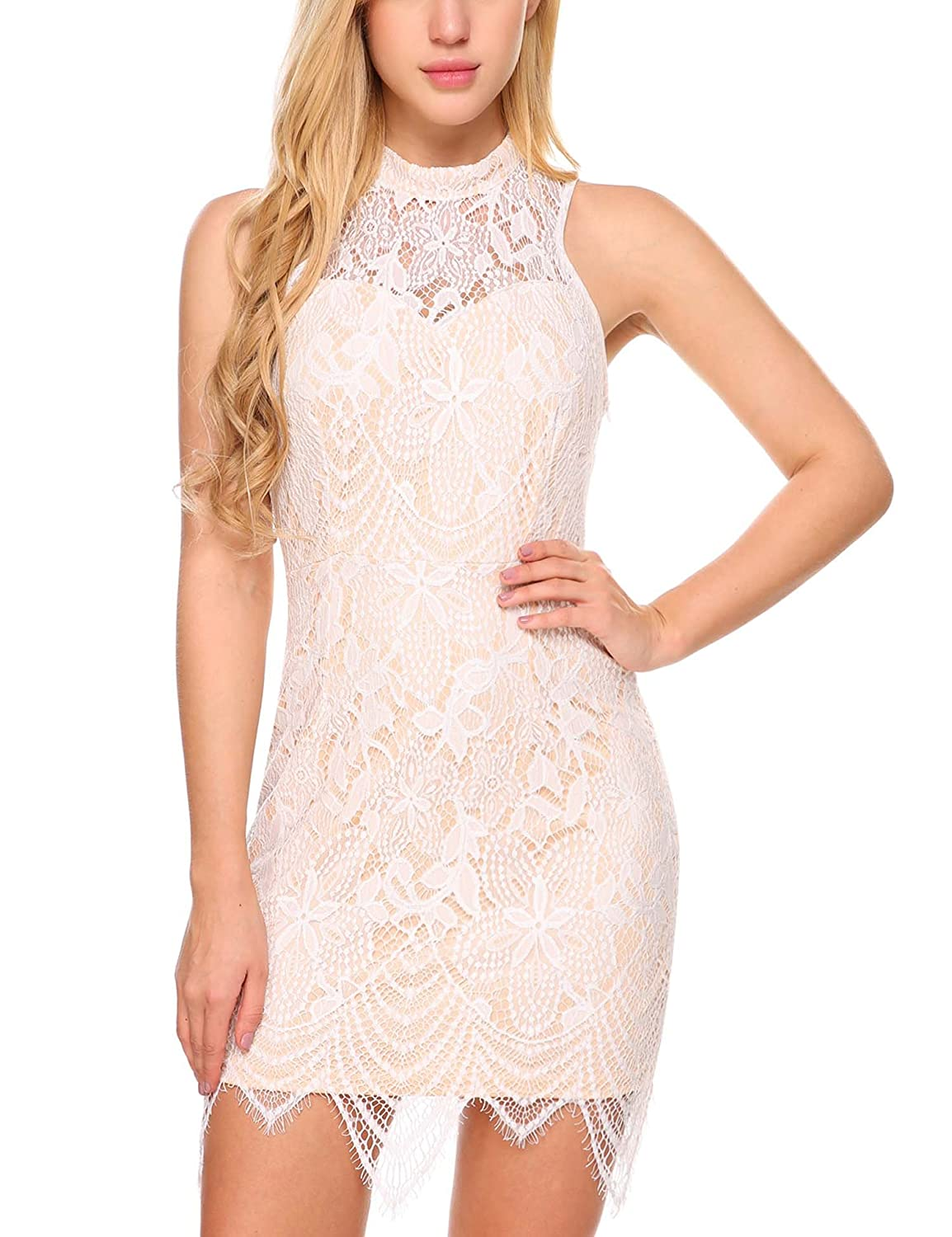 74703ce63908 Cocktail And Party Lace Dress | Saddha
