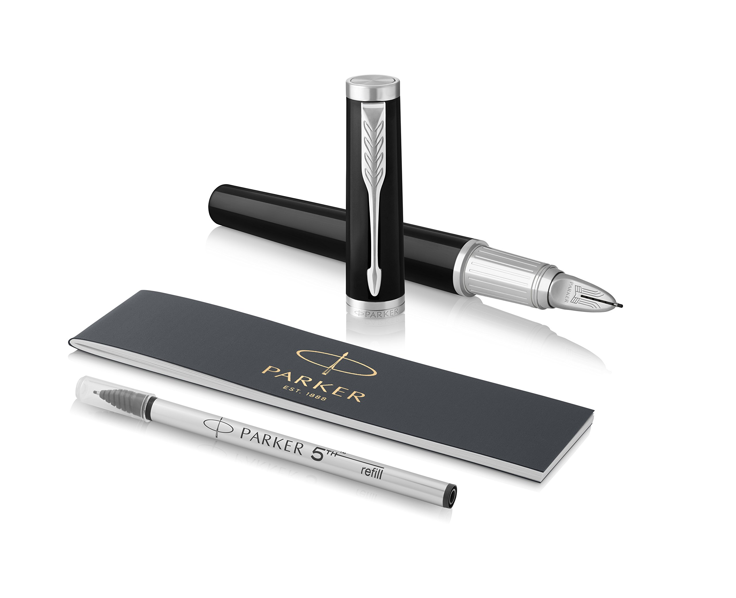 PARKER Ingenuity 5th Technology Large Pen, Black Lacquer...