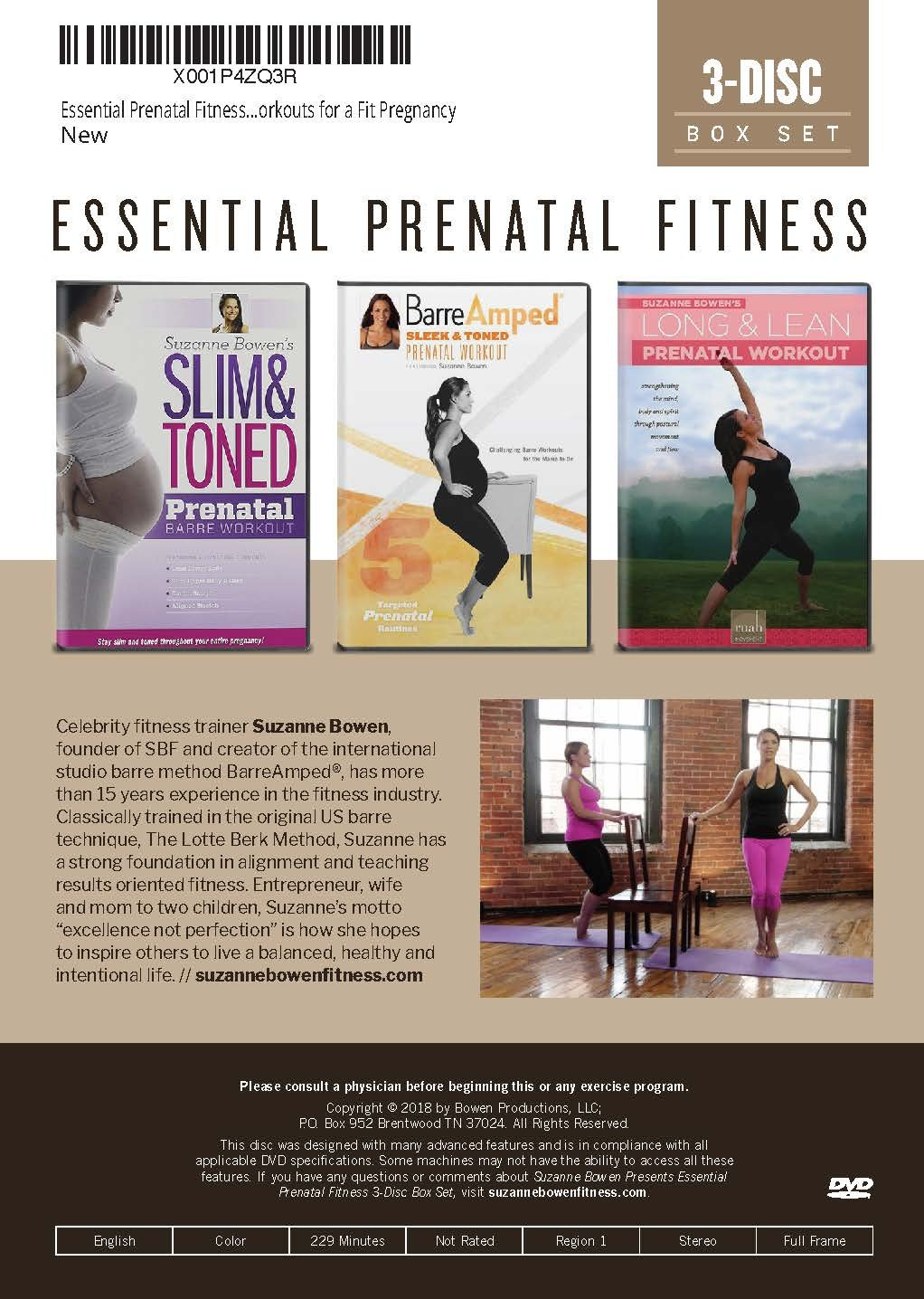 Amazon.com: Essential Prenatal Fitness Box Set - Challenging ...