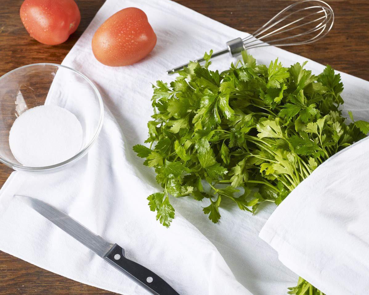 White Funny Dish Towel Sweet Housewarming Gift Farmhouse Kitchen Decor Lay Lady Lay Flour Sack Kitchen Towel