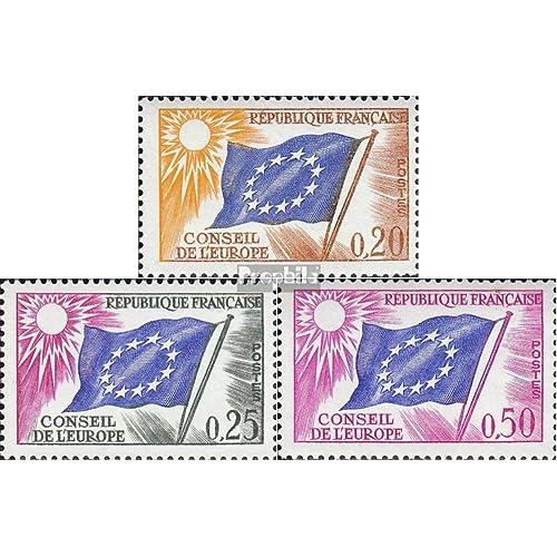 France da7-da9 (complète.Edition.) 1963 drapeau européen (Timbres pour les collectionneurs)
