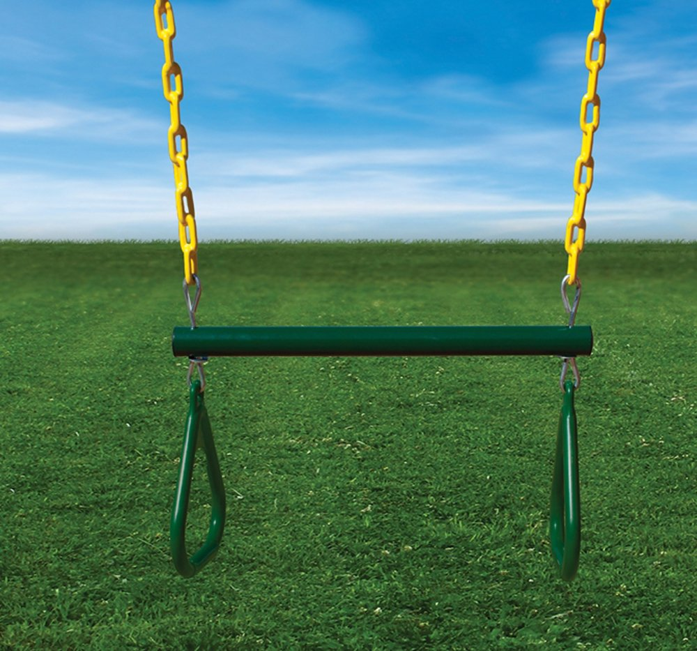 amazon com swing set with timber shield toys u0026 games