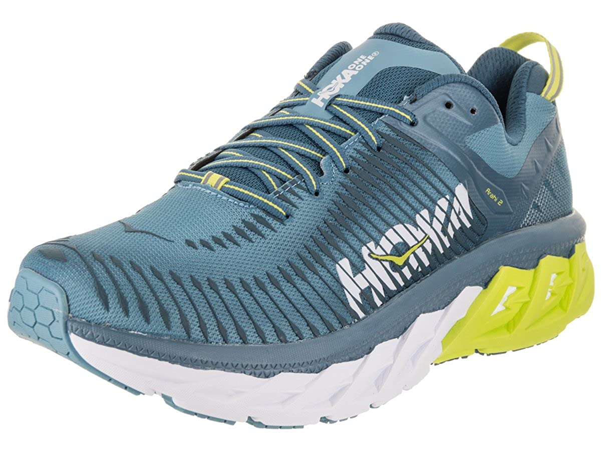 HOKA ONE ONE Men's Arahi 2 Running zapatos Niagara Midnight Talla 9.5 M US -