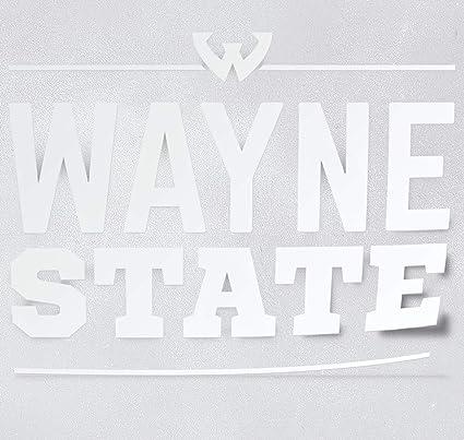 Amazon com: Nudge Printing Wayne State University Word Block