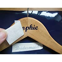 DIY Hanger Stickers Decals Labels for Coat/Dress Hangers - 3 part Set - Choice of Colours