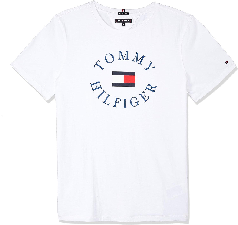 Tommy Hilfiger KB0KB04676 Essential Tommy GRAP Camisetas Y Camisa DE Tirantes Chicos Unisex White 8Y: Amazon.es: Ropa y accesorios