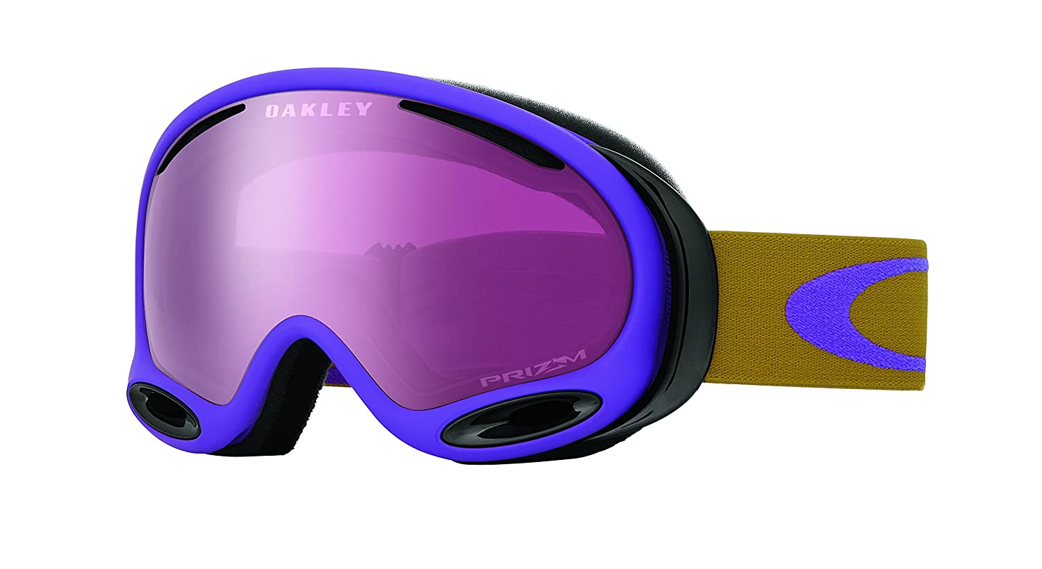 354acf90e2 Amazon.com   Oakley A Frame 2.0 Adult Goggles - Burnished Purple Prizm  Rose One Size   Sports   Outdoors