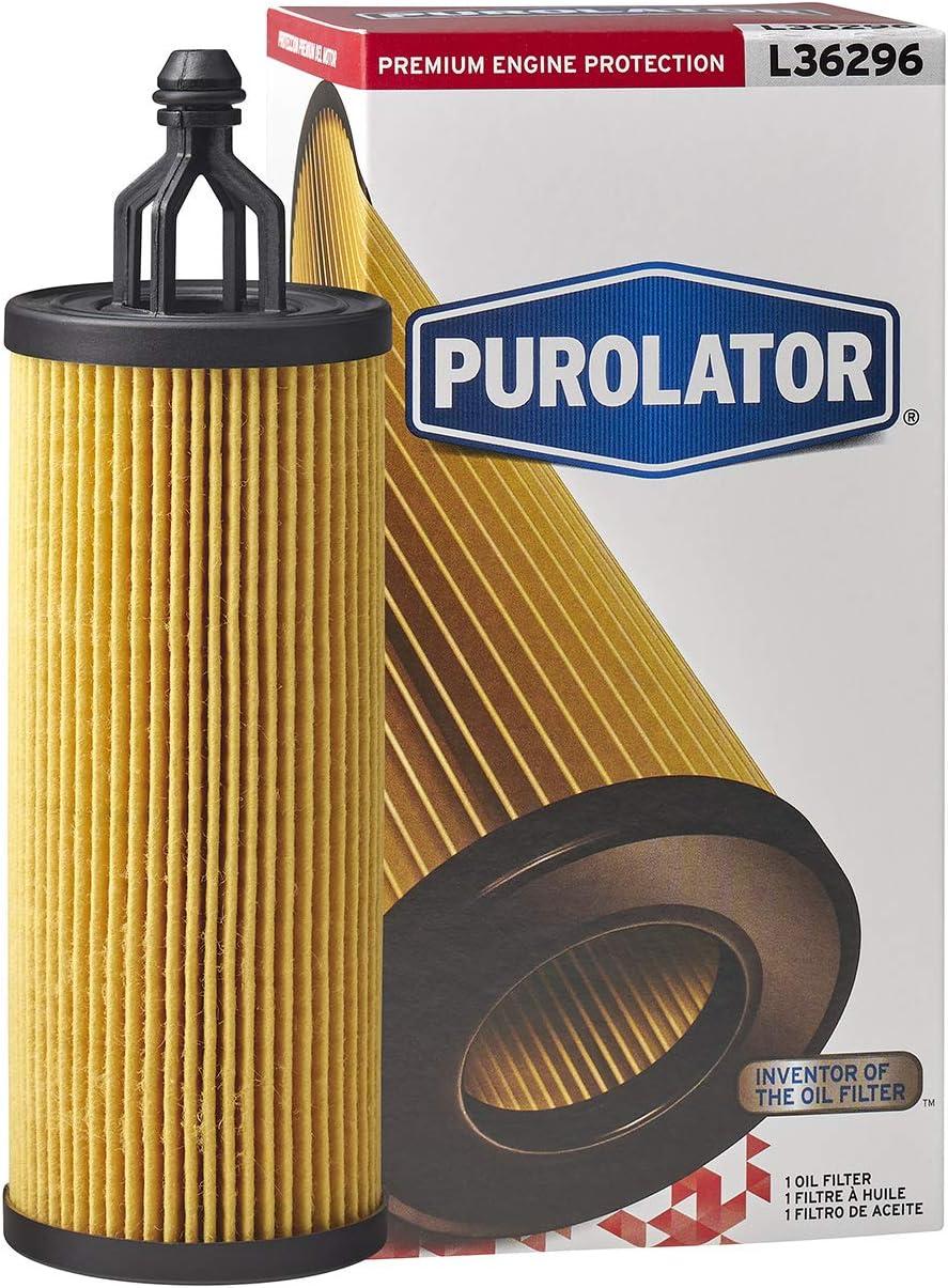 Purolator L36296 Premium Engine Protection Cartridge Oil Filter
