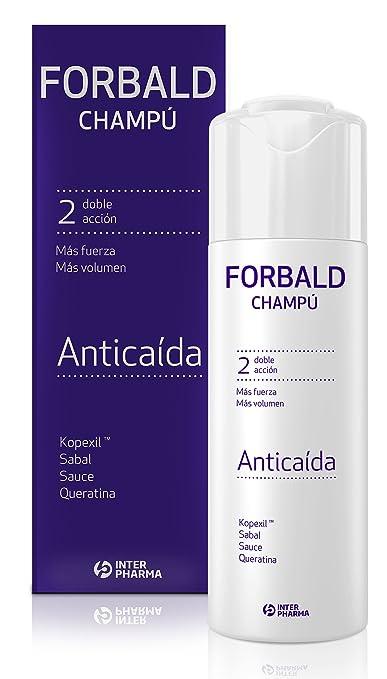 FORBALD - Champú anticaída cabello con vitaminas. Doble acción: fuerza y volumen del pelo. Estimula el crecimiento del cabello - 250 ml: Amazon.es: Salud y ...