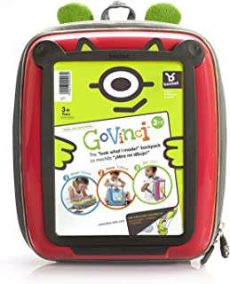 Go Vinci Soft Back Activity Backpack (Red) Mookie Toys 414