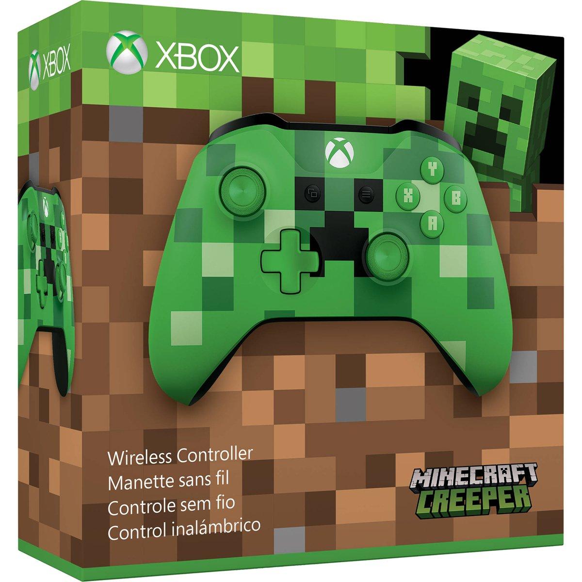 Amazon.com: Microsoft Xbox Wireless Controller - Minecraft Creeper
