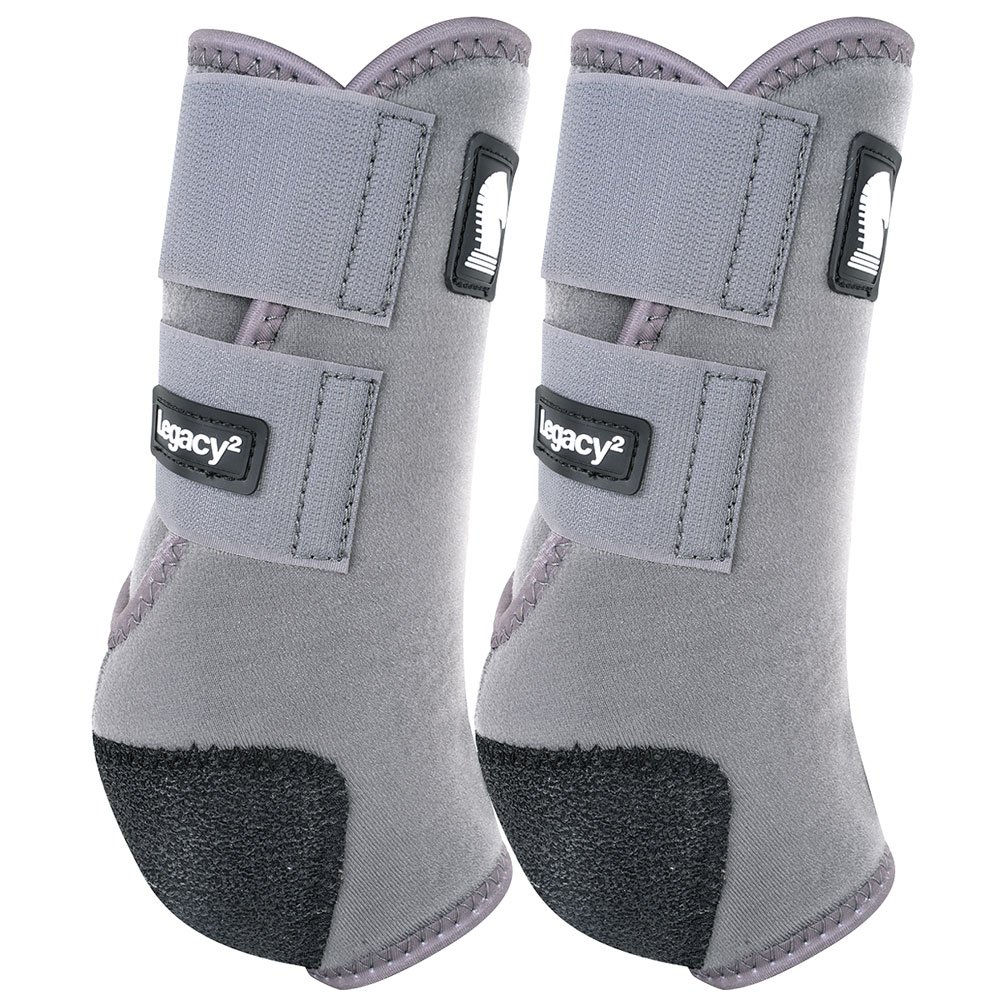 クラシックロープ会社legacy2 Hind保護用ブーツ2パックM Steelgrey   B0792DYHVX