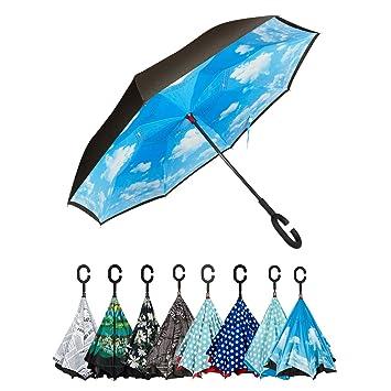 233b5ab6cd4 Golden Lemur Parapluie Inversé Homme et Femme