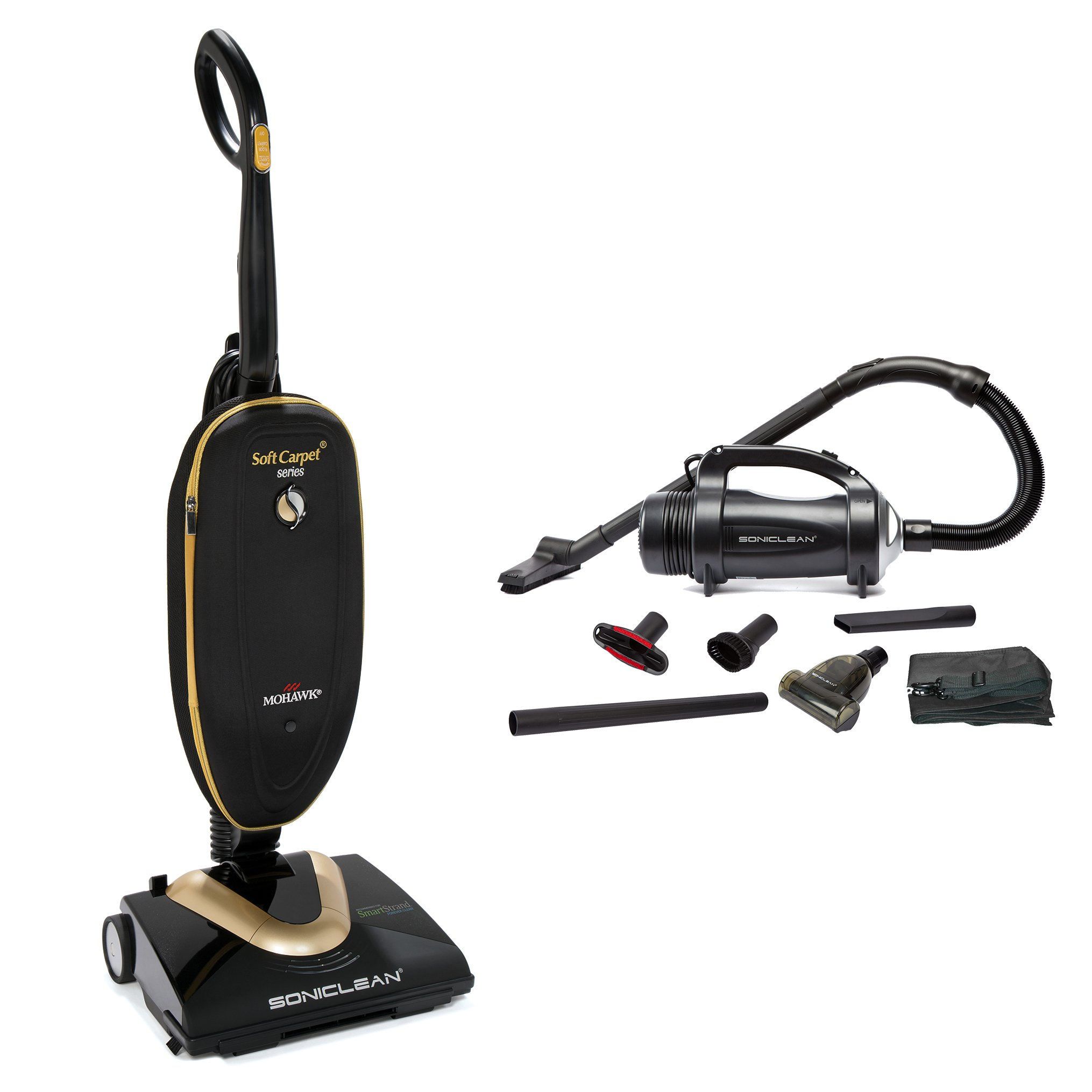 Soniclean Soft Carpet Vacuum Cleaner/Handheld Combo by Soniclean
