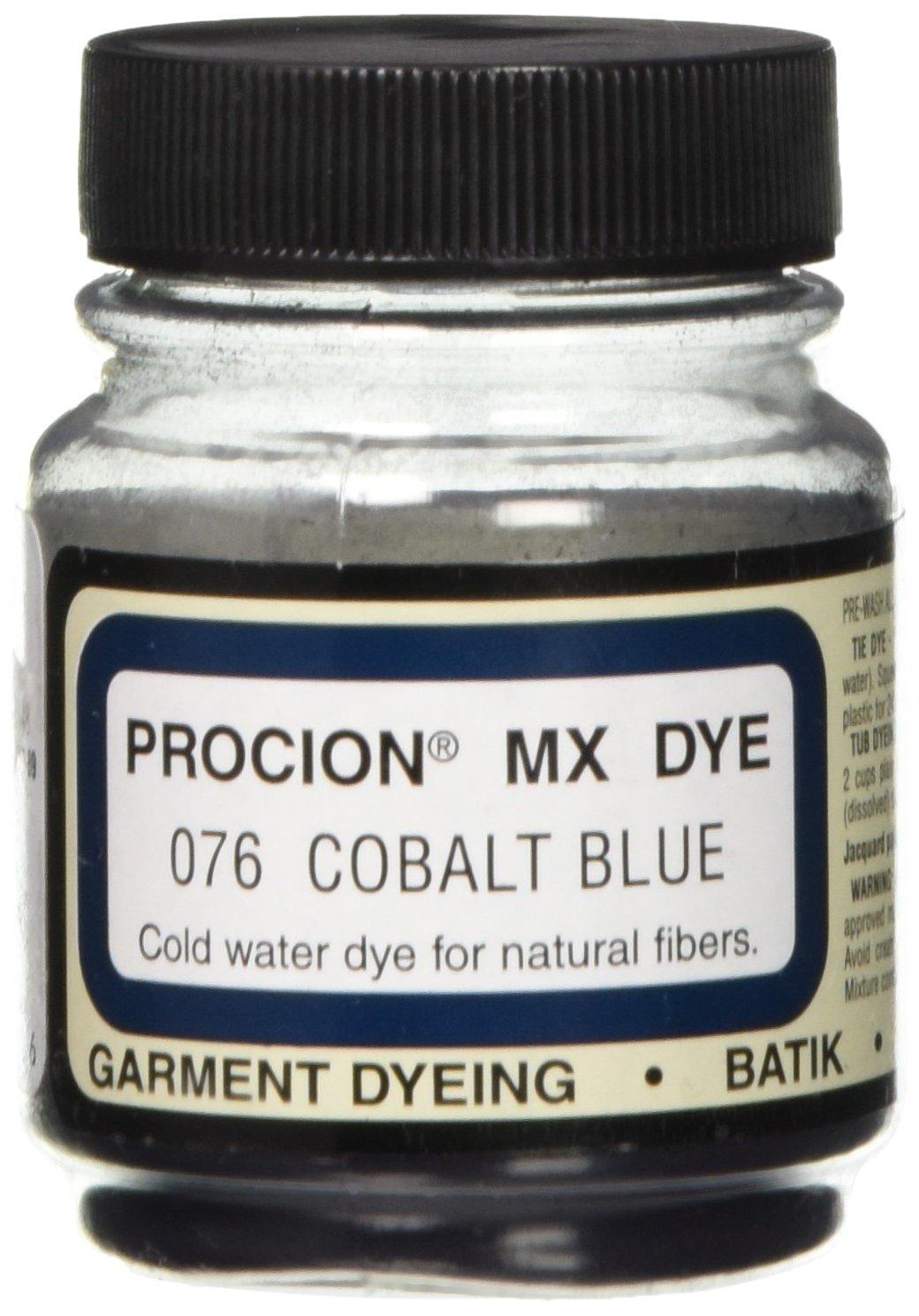 Deco Art PMX-1076 Jacquard Procion Mx Dye, 2/3-Ounce, Cobalt Blue