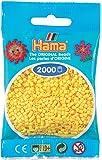 Hama Perlen 501-03 - Mini-Perlen, 2000 Stück gelb