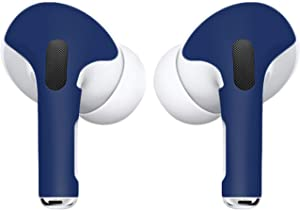 APSkins Skins for AirPods Pro. Protective Wraps Stickers to Cover Air Pods – Compatible Sticker Wrap Decal with Apple Air Pod Pro Accessories (Midnight Blue)