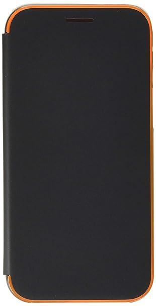 best service ce047 fca9b Amazon.com: Samsung EFFA520PBEGCA Neon Flip Cover Galaxy A5 (2017 ...