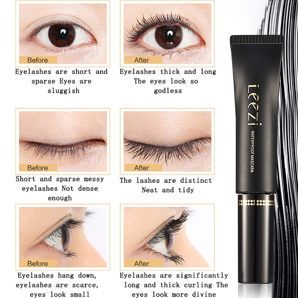 Amazon.com : Ofanyia Mascara Cream, Thicking & Curling, long-lasting & waterproof, Eyelash extension Black Mascara Cream : Beauty