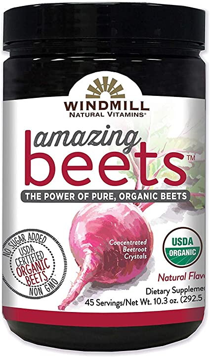 Amazon.com: Windmill Amazing Beets Natural Vitamins, 45 pk./10.3 ...