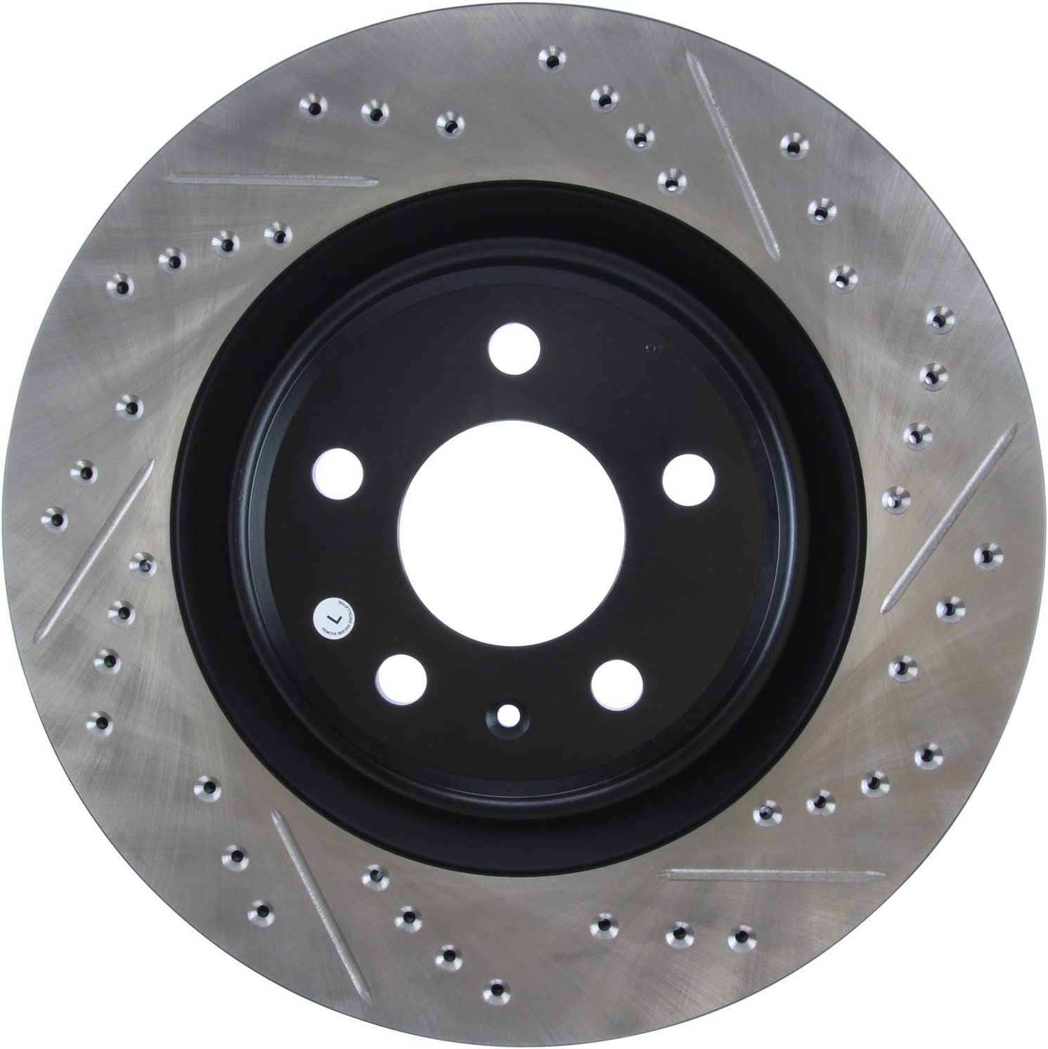 Rear Left 1 Pack StopTech 127.33137L Sport Drilled//Slotted Brake Rotor