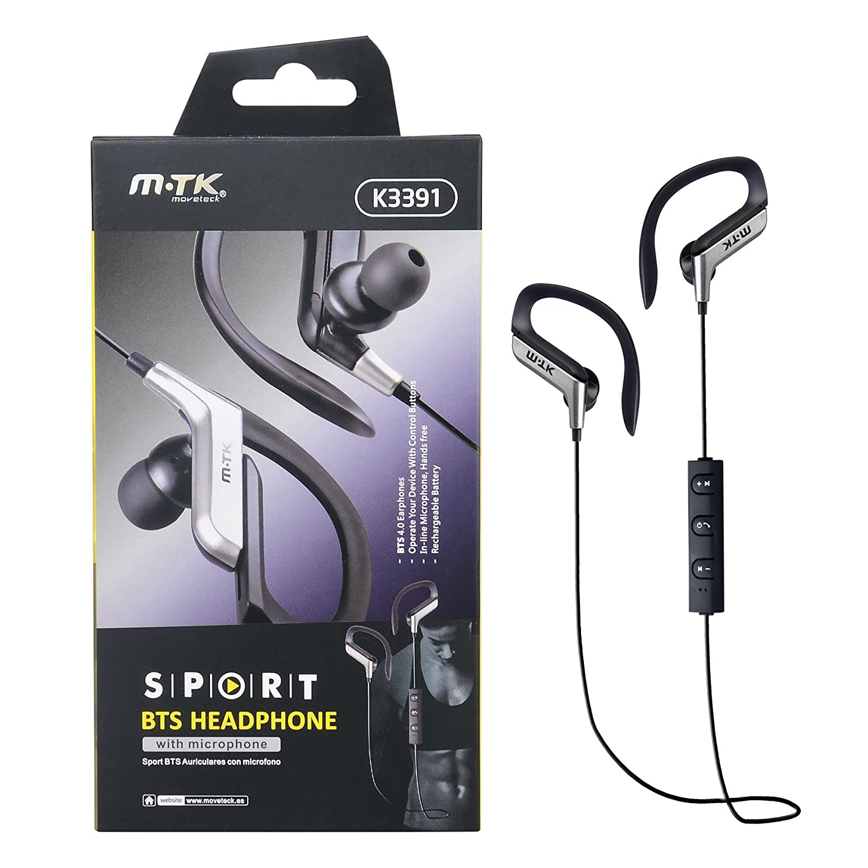 Amazon.com: M-TK Sport BTS Bluetooth Wireless Sport Earphones Headphones Headset w/ microphone for Apple iPhone 6 / 7 Plus, Samsung Galaxy S6 / S7 Edge / S8 ...